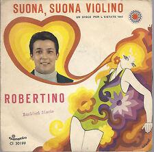 SUONA, SUONA VIOLINO - MI HANNO DETTO DI NO # ROBERTINO