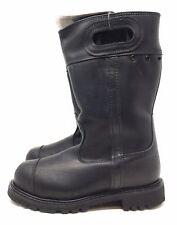 Black Diamond Mens Firefighter Boots Leather Steel Toe  0975 6.5 Wide