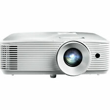 Optoma HD27 3400 Lumens 1080p Home Theater Projector - ZERO HOURS ON LAMP