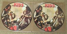 KISS STILL LOVE YOU PICTURE DISC SET OF 2 LIVE 1983