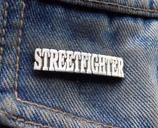 Street Fighter Pewter Pin Badge