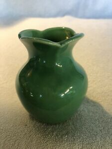 """Vintage Miniature McCoy Ceramic Vase, USA, 4"""" tall"""