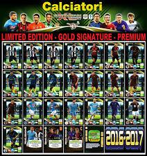 CALCIATORI ADRENALYN XL 2016-17 2016/17 CARD LIMITED EDITION - PREMIUM - ONLINE