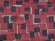 Longaberger Old Glory Set of 2 Flag Napkins ~ Usa ~ New