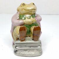 Beswick Beatrix Potter Mr. Jackson Green Toad Figurine England F. Warne BP3b
