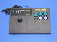 PC Engine Hori Fighting Stick PC 5 Button Controller Import Japan