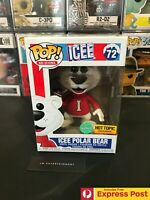 ICEE POLAR BEAR GRAPE SCENTED FUNKO AD ICONS POP VINYL FIGURE #72 NEW - IN STOCK