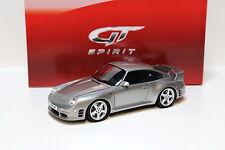 1:18 GT Spirit Porsche RUF CTR 2 silver Limited 1250 NEW bei PREMIUM-MODELCARS