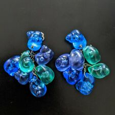 Grandes Boucles d'oreilles À Clips Vintages EARRINGS