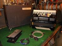 Farfisa Super Syntaccordion Accordion Double Tone Chamber Scandalli WORKS!!!