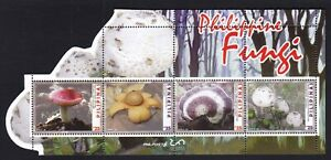 2019 Philippines Philatelic Exhibition FUNGI Mashroom S/S Cut to shape Mint NH