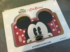 Cath Kidston Mickey Mouse Rubber Iphone 7 Case BNIB RED