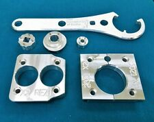 2021 Fox X2 Float Shock Rebuild Tool Kit Vise Clamp+Sealhead+4 pin Sockets DH x2