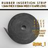 RUBBER INSERTION STRIP 1.5 MM THK X 50 MM W X 10MTR LONG COIL HIGH QUALITY | HYT