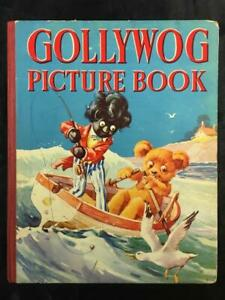 GOLLYWOG PICTURE BOOK, (Golliwog) A.E. Kennedy vintage UK Kids HC Book