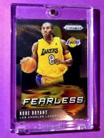 Kobe Bryant PANINI PRIZM FEARLESS SPECIAL INSERT LAKERS CARD INVESTMENT - Mint!