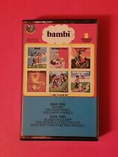 Bambi Favorite Stories Storyland Cassette Tape Narrated Album