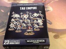40K Tau Empire Start Collecting! NIB