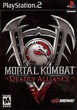 Mortal Kombat: Deadly Alliance (Sony PlayStation 2, 2003) - European Version