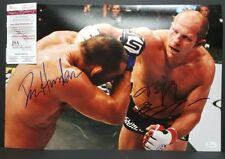 FEDOR EMELIANENKO vs DAN HENDERSON Signed Autograph UFC Pride,BELLATOR. JSA