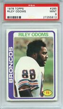1978 TOPPS 285 RILEY ODOMS PSA MINT 9 Denver Broncos