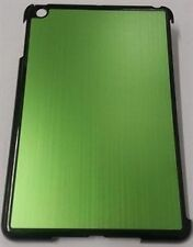 Brushed Aluminium Case Cover Hard Back Shell for Apple iPad Mini Mini 2 - Green