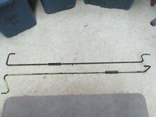 Mopar USED 1967-69 Dodge Dart Deck Lid Hinge Torsion Bars PAIR 2603694-5