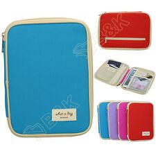 Travel Organizer Bag Money Passport Card Document Holder Wallet Handbag 7.9 Inch