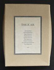 Kristmundsson ao # THICK AIR, Reykjavik- Amsterdam # 1983, mint-