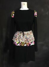 Bernhard Willhelm stretch dress flower puff girl cotton beirendonck vintage M