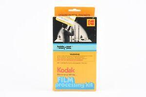 NEW KODAK BLACK & WHITE FILM PROCESSING KIT HOBBY PAC CHEMS IN FOIL PACKETS