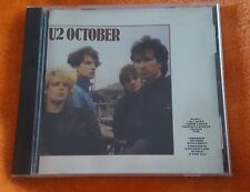 U2 OCTOBER CD EUC GLORIA FIRE TOMORROW