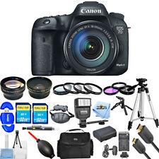 Canon EOS 7D Mark II DSLR Camera with 18-135mm f/3.5-5.6 STM Lens! MEGA BUNDLE!!