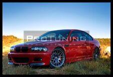 BMW E46 98-05 Front spoiler M3 CSL Style Bumper Lip Spoiler Splitter LEFT side