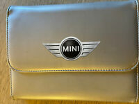 BMW MINI OWNERS HANDBOOK MANUAL WALLET CASE GENUINE BMW MINI CASE WALLET BMW