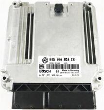 COMPUTER ECU VW  03G906016CB 0281011900 IMMO OFF / WARRANTY