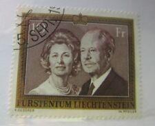 1974 Liechtenstein SC #557 ROYALTY PORTRAIT used stamp