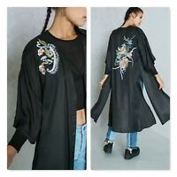 BARDOT | Womens Embroidered Floral Print Kimono Top Jacket [ Size AU 8 or US 4 ]