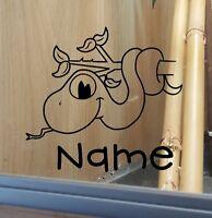 Snake Customised Vivarium Decal Sticker