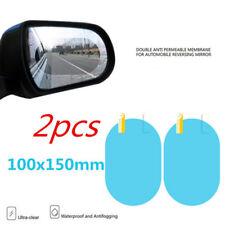 1 Pair Car Anti Water Mist Film Anti Fog Rainproof Rearview Mirror Protective