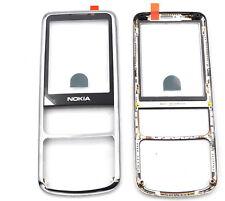 Nokia 6700classic A-Cover silber schwarz