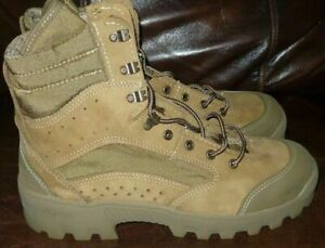 Bates Hot Weather Combat Hiker Boots Olive Mojave Size 11 Wide