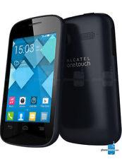 Téléphones mobiles noirs Alcatel 3G