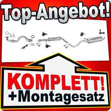 Auspuff VW GOLF 4 IV 1.6 105PS BCB 2001-2004 +Rohr Auspuffanlage K58B