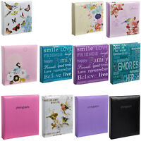 Arpan Large Memo Slip In Photo Album 200 6 x 4 Photos Organiser - Choose Color