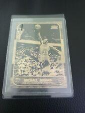1986-87 fleer Michael Jordan rc custom rare.