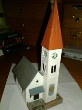 HO Scale Faller Church B-238 built up nice detail excellent condition