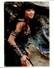 Lucy Lawless (Xena: Warrior Princess) signed authentic 8x10 photo COA
