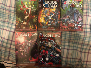 DC New 52 - Suicide Squad Vols.1,2,3,4 & 5 TPB Graphic Novel (Complete Series)