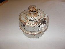 Cool vintage Usa made kerosene burning Toledo truck emergency flare non working